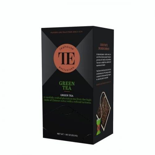 TE Teahouse exclusives Green Tea Grüner Tee Freund Kaffee