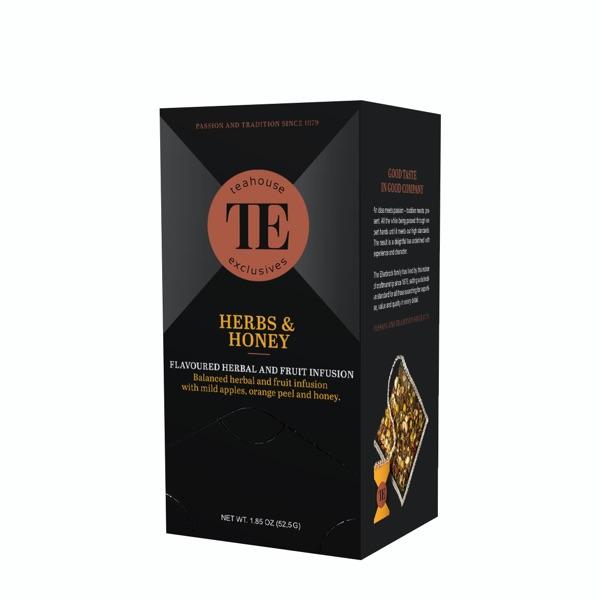 TE Teahouse exclusives Herbs & Honey Freund Kaffee