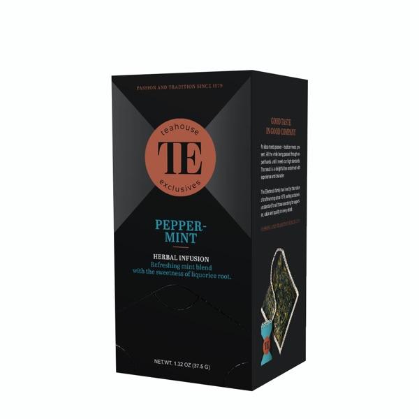 TE Teahouse exclusives Peppermint Tea Minze Pfefferminze Tee Freund Kaffee