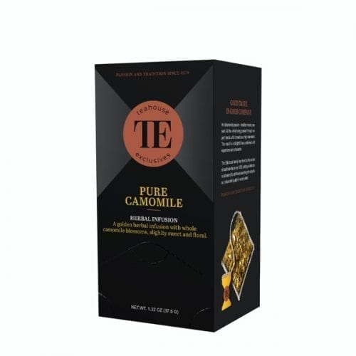 TE Teahouse exclusives Pure Camomile Tea Kamillentee Kamille Tee Freund Kaffee