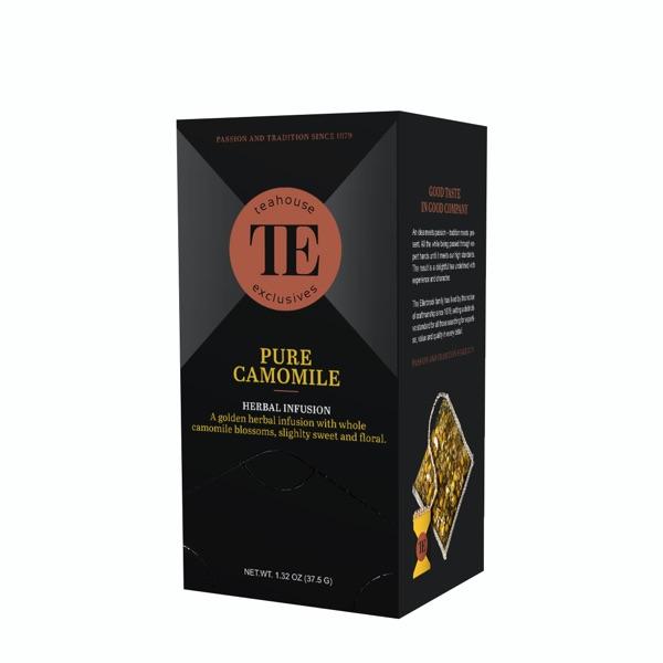 TE Teahouse exclusives Pure Camomile Tea Kamillentee Kamille Tee Freund Kaffee