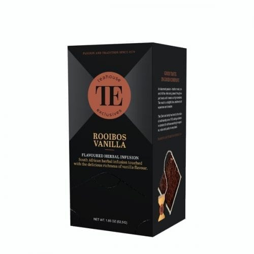 TE Teahouse exclusives Rooibos Vanilla Tea Tee Freund Kaffee