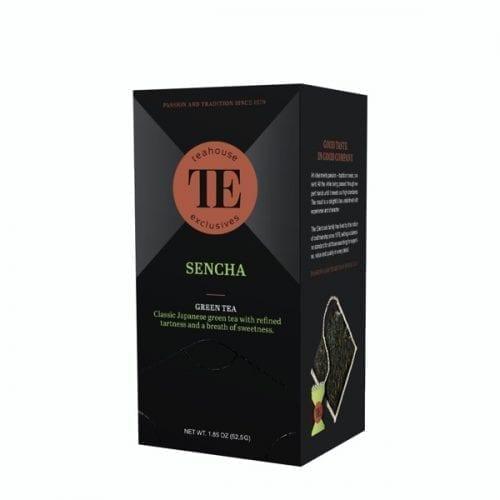 TE Teahouse exclusives Sencha Tea Tee Freund Kaffee