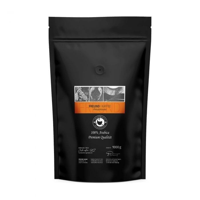 Freund Kaffee Columbia UTZ zertifiziert 1000g Arabica Kaffee Premiumkaffee Privatrösterei