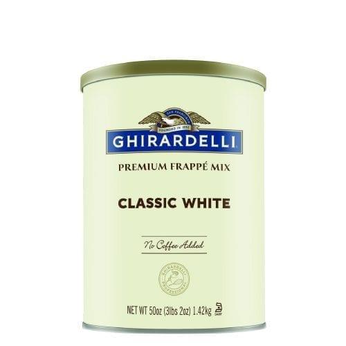 Chiradelli Frappe white FREUND KAFFEE